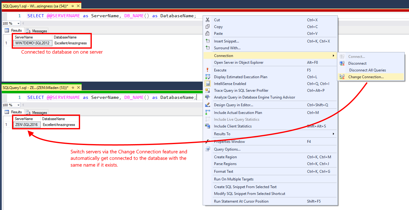 SSMS Tools Pack Feature: SQL Editor Plus